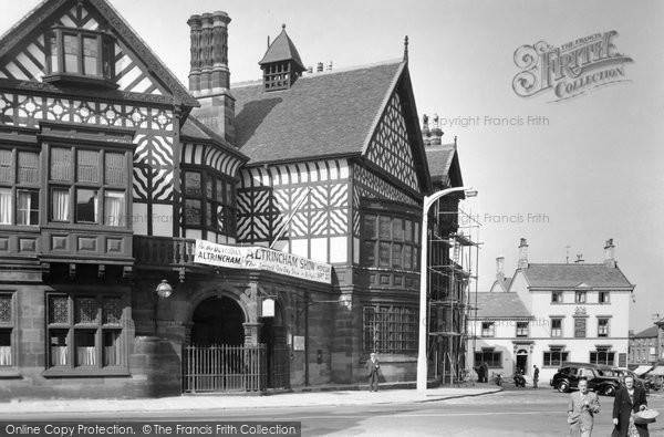 Altrincham, The Old Bank c.1955