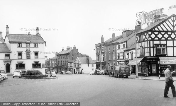 Photo of Altrincham, The Old Market Place c.1960