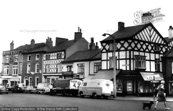 Altrincham, The Old Market Place c.1960