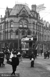 Altrincham, Tram In Railway Street 1907