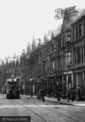Altrincham, Tram In Stamford New Road 1913