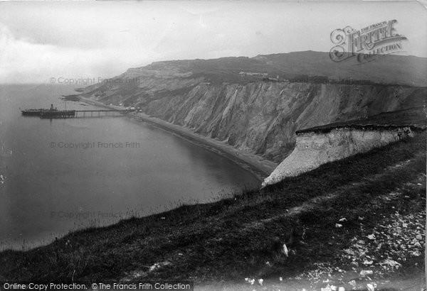 Photo of Alum Bay, 1913