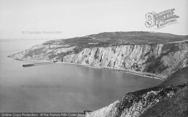 Photo of Alum Bay, 1923