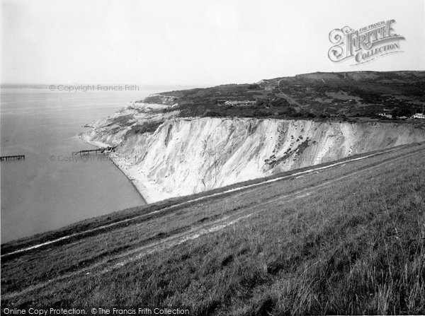 Photo of Alum Bay, 1935