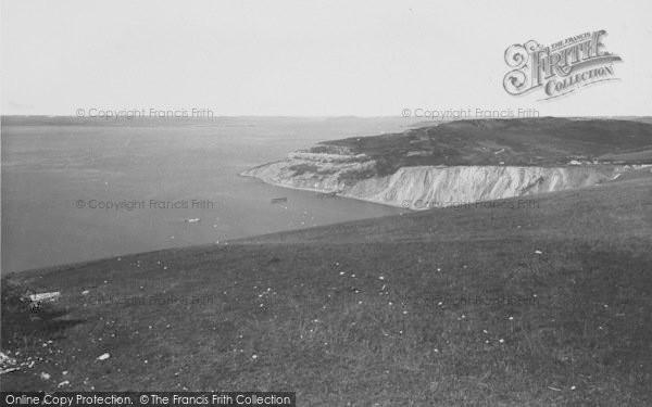 Photo of Alum Bay, 1935