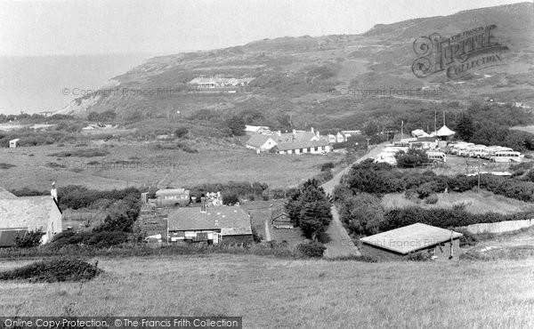 Photo of Alum Bay, 1951