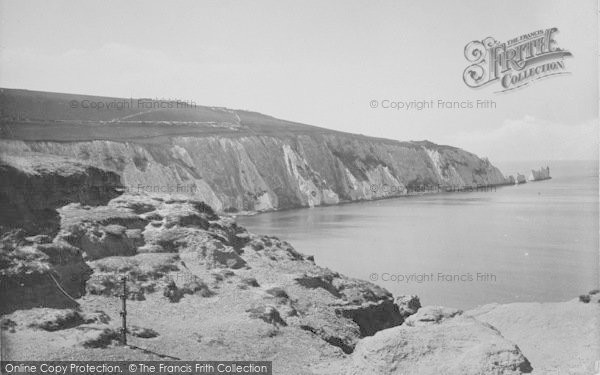 Photo of Alum Bay, And The Needles 1923