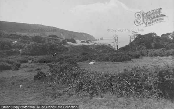 Photo of Alum Bay, And The Needles 1935