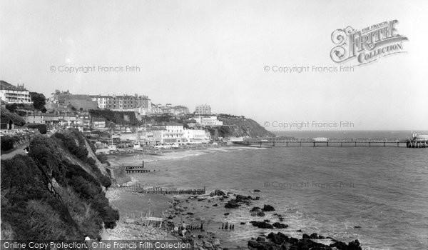 Alum Bay, Beach c.1955