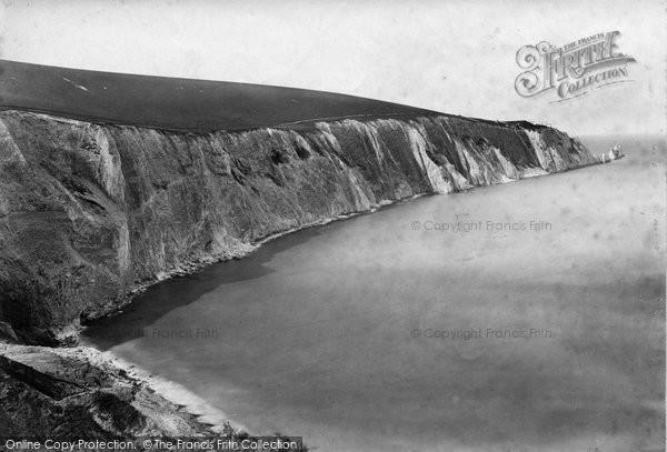 Photo of Alum Bay, c.1874