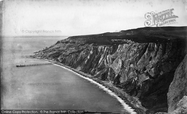 Photo of Alum Bay, c.1874