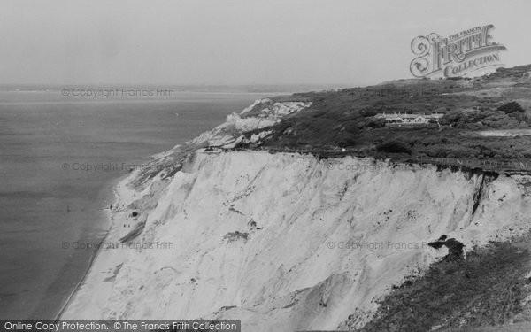 Photo of Alum Bay, c.1955