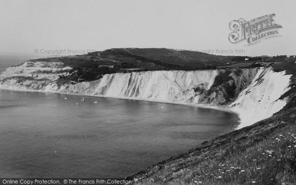 Photo of Alum Bay, c.1960