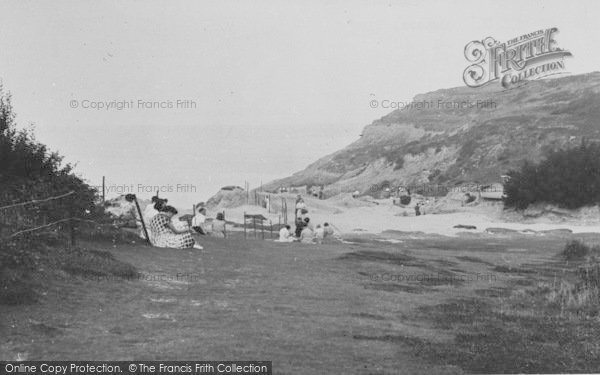 Photo of Alum Bay, General View c.1955