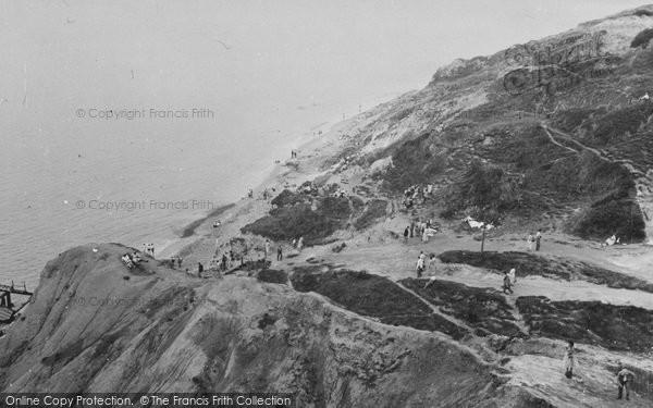 Photo of Alum Bay, General View c.1955