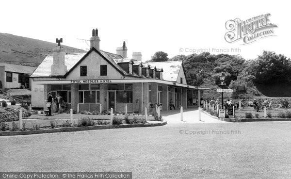 Photo of Alum Bay, Royal Needles Hotel c.1960