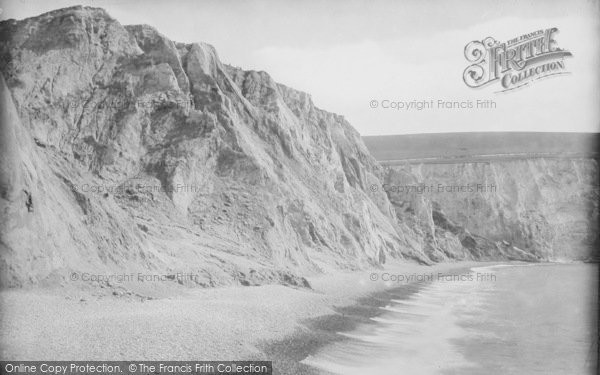Photo of Alum Bay, The Coloured Cliffs 1913