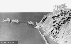 Alum Bay, The Needles c.1874