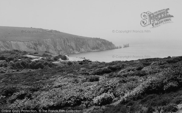 Photo of Alum Bay, The Needles c.1960