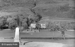 Alva, War Memorial And Lady Aberdeen Home c.1960
