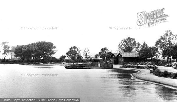 Photo of Alvaston, The Boating Lake c.1955