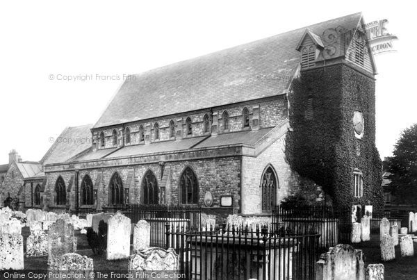 Photo of Alverstoke, St Mary's Church 1898