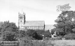 St Mary's Church c.1955, Alverstoke