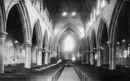Alverstoke, St Mary's Church Interior 1898