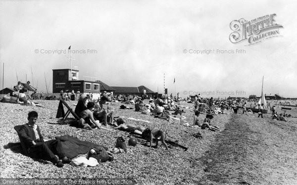 Photo of Alverstoke, The Beach And Yacht Club c.1960
