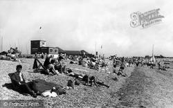 The Beach And Yacht Club c.1960, Alverstoke