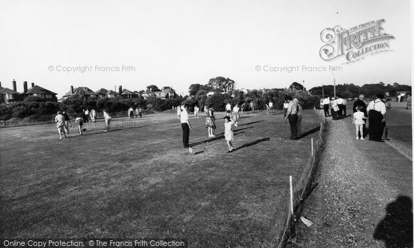 Photo of Alverstoke, The Putting Green c.1960