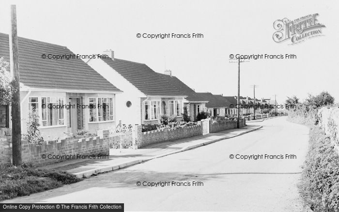 Photo of Alveston, Davids Lane c.1960