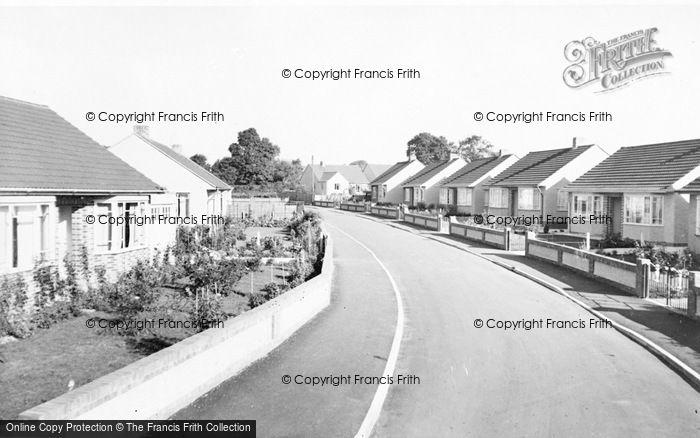 Photo of Alveston, Davis Close c.1960