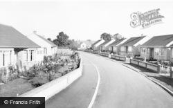 Alveston, Davis Close c.1960