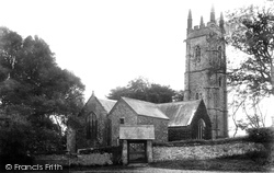Alwington, St Andrew's Church 1907