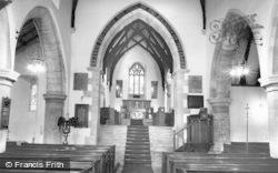 Church Interior c.1960, Alwinton