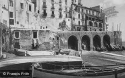 Beach And Hotel Marina Riviera c.1920, Amalfi