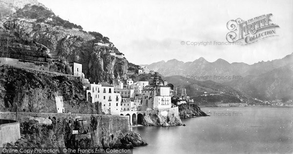 Photo of Amalfi, c.1872