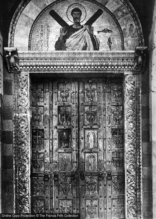 Photo of Amalfi, Cathedral, Bronze Doors c.1920