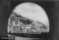 From The Tunnel c.1920, Amalfi