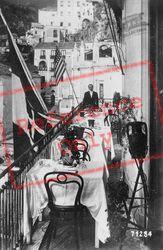 Hotel Marina Riviera, Terrace c.1920, Amalfi