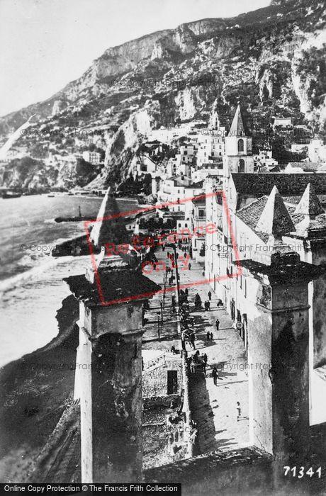 Photo of Amalfi, The Beach c.1920