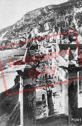 The Beach c.1920, Amalfi