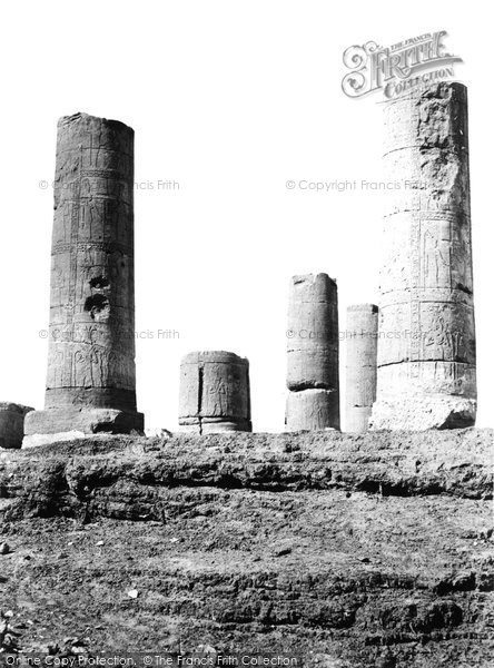 Photo of Amara, Remains Of The Temple 1860