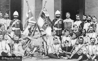 Ambala, 106th Bombay Light Infantry 1869
