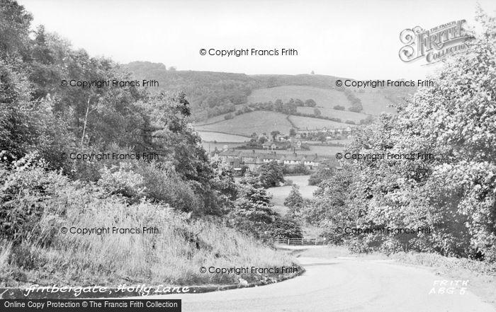 Photo of Ambergate, Holly Lane c.1955
