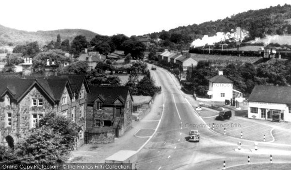 Photo of Ambergate, Matlock Road c.1955