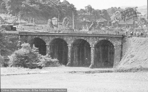 Photo of Ambergate, Railway Bridge c.1955