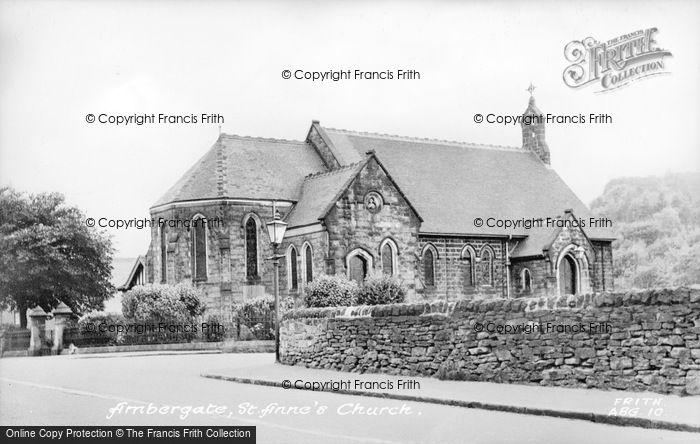 Photo of Ambergate, St Anne's Church c.1955