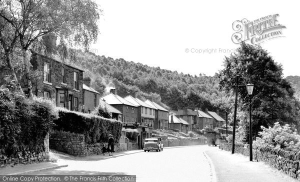 Ambergate, the Village c1955
